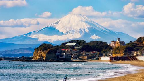 镰仓海岸富士山