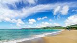 中国海南三亚沙滩风光