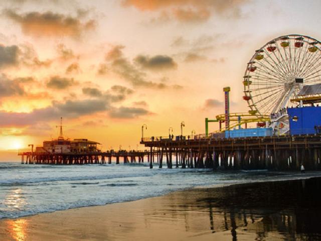 网红打卡圣地LA-洛杉矶梦幻包车一日游-(星光大道+比弗利山庄+圣塔莫尼卡海滩+盖蒂中心)