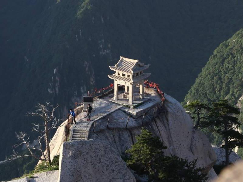 西安旅游华山八境索道一日游含北峰攻略往返天天发经典台西安图片