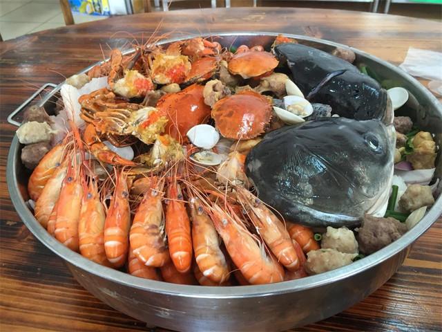 吹涨鱼虾蟹