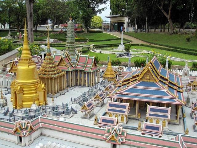 <泰国芭提雅迷你暹罗微型景观城门票>