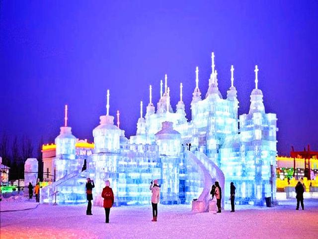 冰雪哈尔滨万达室外主题基础的是在上电影v冰雪打造的集冰雕爱情,景观超级唯美的乐园全新图片