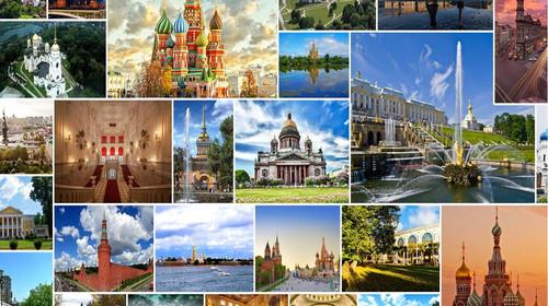 俄罗斯莫斯科+圣彼得堡8日游