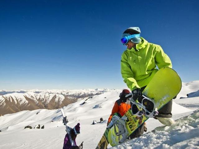 <新西兰南岛滑雪七日游(哈特山+奥哈+三锥山+卡徳罗那+皇冠峰+卓越山)>(当地参团)