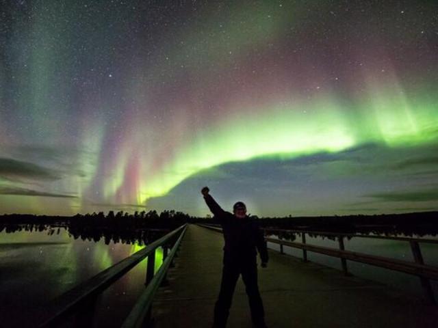 <芬兰 萨利色尔卡  芬兰俄罗斯边境北极光探索之旅 含接送(4小时)>
