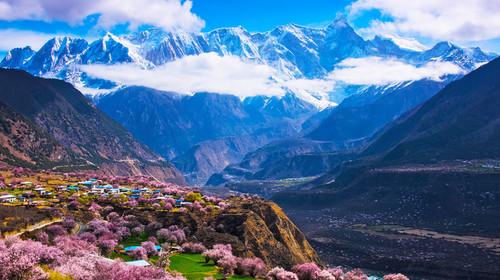 西藏拉萨-布达拉宫-林芝大