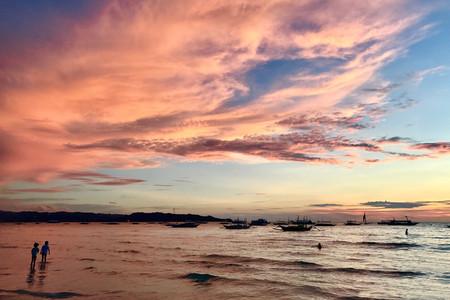 <长滩岛4晚6天游>机酒接送轻松游,4晚连住天堂花园海边酒店,上海直飞,派领队,含接送、白沙滩巡礼