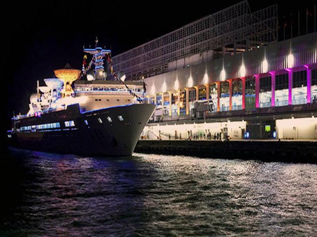 香港夜游维多利亚港-海龙明珠号邮轮船票