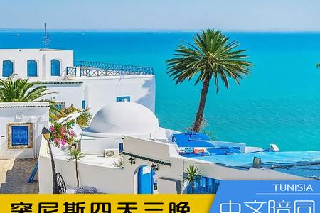<突尼斯4日游>2人起发团,不进店、不自费、纯玩旅程,英文导游,地中海蓝、蓝白小镇、文化遗产杜加(当地游)