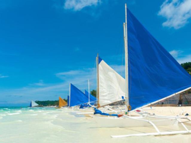 <长滩岛 螃蟹船环岛出海一日游>升级螃蟹海鲜午餐+精选浮潜点+Puka沙滩日光浴