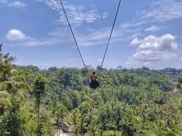 巴厘岛让你心心念的网红秋千