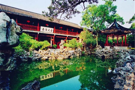 <扬州1日游>纯玩团,可品尝扬州特色早茶中吃,游扬州园林,听扬州船娘哼唱地方小调