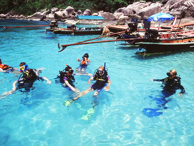 美食风帆普吉岛5晚7日休闲之旅 月亮岛环岛游 浮潜 海钓 出海跟拍