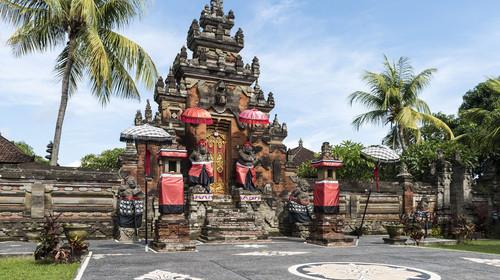 巴厘岛乌布皇宫遗址