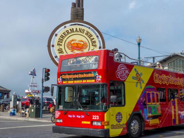 <旧金山随上随下巴士观光(一、二、三日通票任选)>