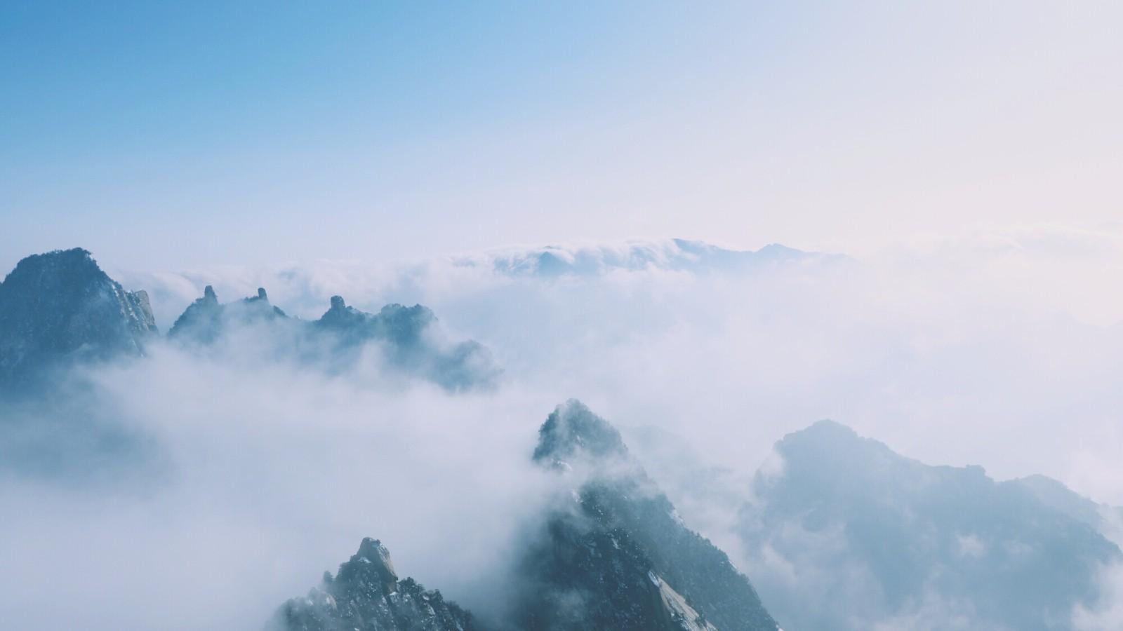 五岳归来不看山--西岳华山图片