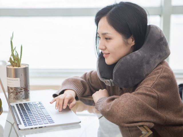 SG出行护颈U型枕 曲线记忆棉 3秒回弹易收纳  「 出行必备 舒适助眠 轻小便携 」