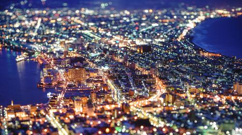 日本北海道函馆夜景