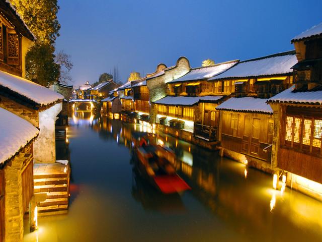<苏州-乌镇-杭州3日游>游苏州留园,虎丘,含西湖游船,夜游西栅,一天一座城,一车到底,纯玩无购物