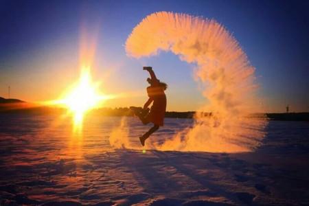 <漠河-北极村-观音山-北极沙洲双卧4日游>二人起订/一单一团/生命就是果敢/放肆行走/我在一望无际的寒冷里温暖的等着你