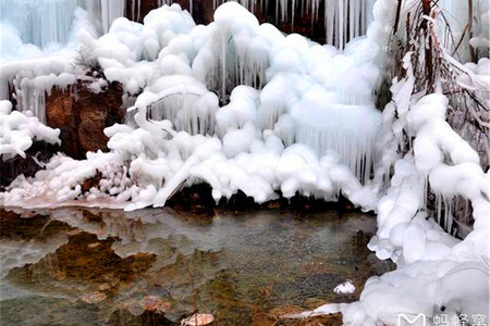 <龙居冰瀑1日游>冬日仙境,带你去看漫山遍野的冰挂,休闲摄影