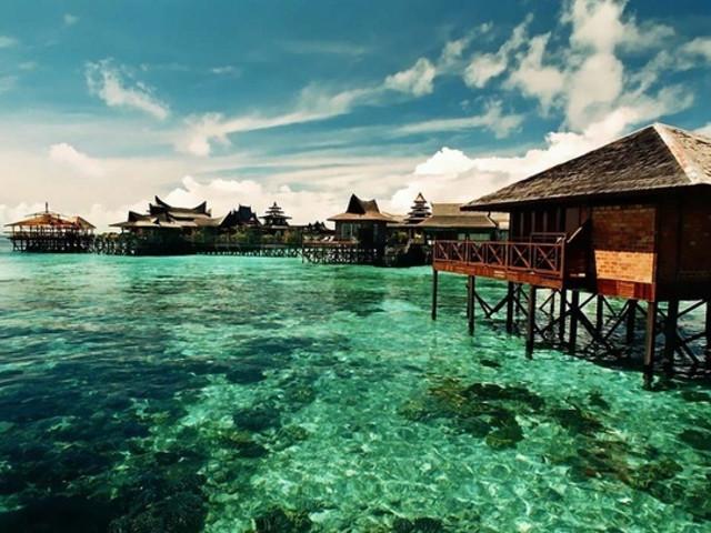 潜水胜地梦幻之岛丨敦沙卡兰海洋公园,军舰岛,马达不安岛浮潜