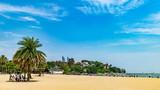 海滩沙滩风光