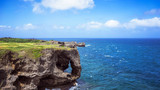 日本冲绳万座毛景区