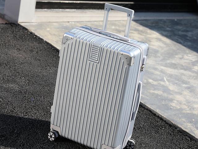 虹冠【拉链复古箱】旅行拉杆箱18寸行李箱