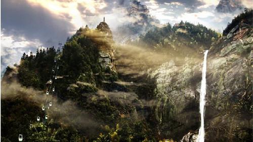 庐山山上-锦绣谷-神仙洞