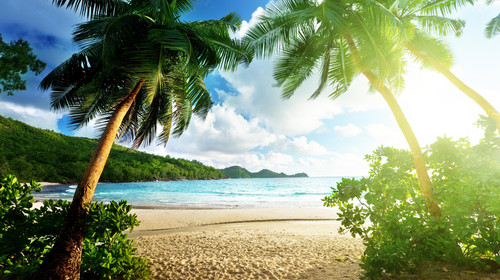 Beautiful beach for holiday