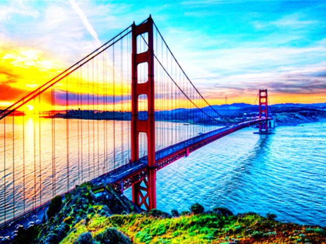 世界著名大桥简笔画
