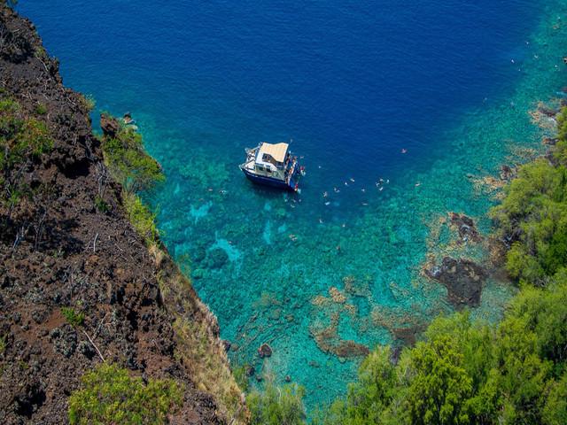 夏威夷大岛 Kealakekua 湾半日海上巡游【巡游+浮潜】