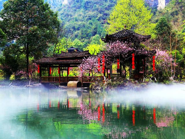 重庆到酉阳桃花源景区有多少公里图片