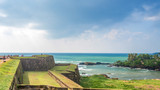 Beautiful scenery of ancient Dutch Galle Fort