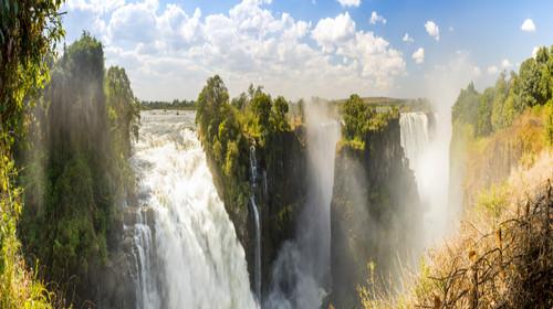 <津巴布韦-博茨瓦纳-赞比亚-纳米比亚四国机