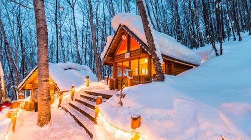 冬季的北海道
