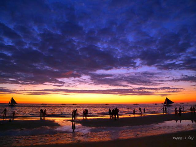 长滩岛4晚6日半自由行5J或PR直飞细菌感染感染阴茎区别的和病毒性全程入住图片