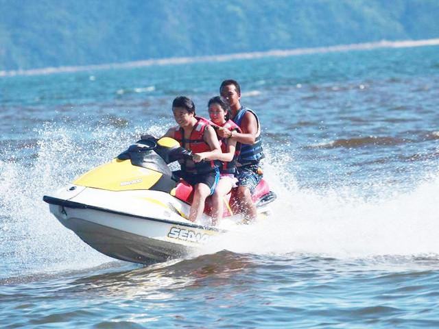 <菲律宾长滩岛水上摩托艇>中文讲解 自由行海上旅游项目