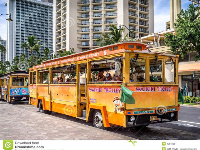【背包客之选】夏威夷欧胡岛-威基基叮当车【夏威夷公交】