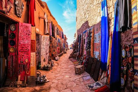 <摩洛哥2晚3日当地游>包团/沙漠骆驼/**帐篷篝火/UESCO本哈杜垒村/托德拉大峡谷