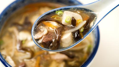 酸辣汤,汤,中式料理,