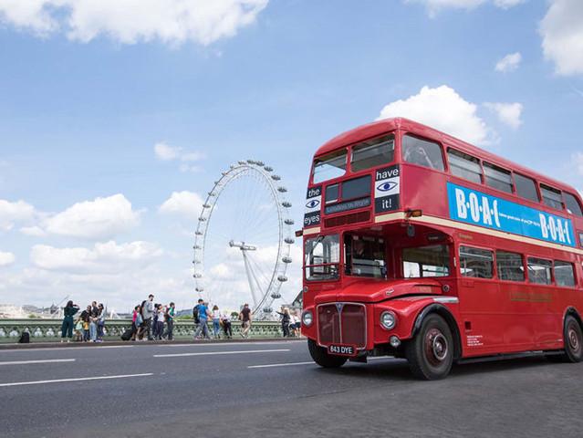 <英国伦敦复古双层巴士+伦敦塔+威斯敏斯特教堂+博罗市场+英式下午茶畅玩半日游>