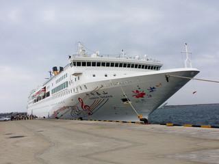 <渤海邮轮中华泰山号青岛-福冈-青岛4晚5日>9月7日出发 青岛港口起止