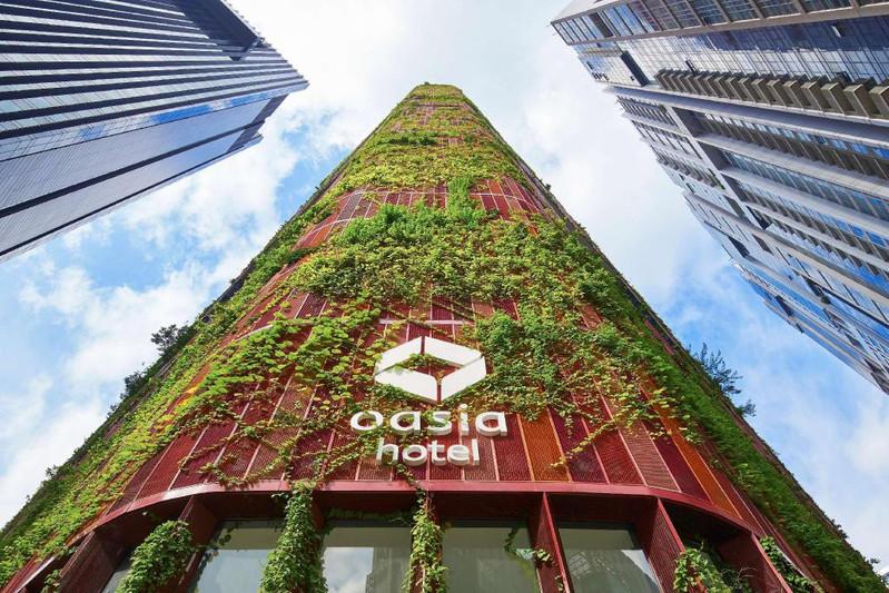 新加坡居所 要求v居所感的酒店建筑设计对羽毛球室的充满图片