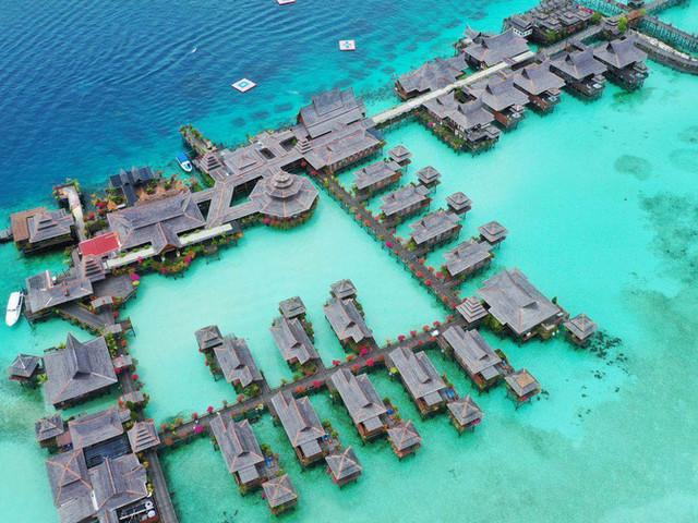 <马来西亚沙巴仙本那马布岛+卡帕莱岛+玻璃船一日游【赠1元接/送机+水下拍照+一次性咬嘴】>