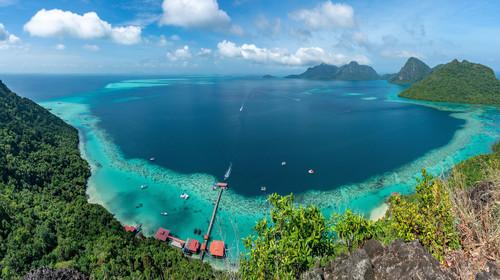 馬來西亞沙巴州敦沙蘭卡海洋公園