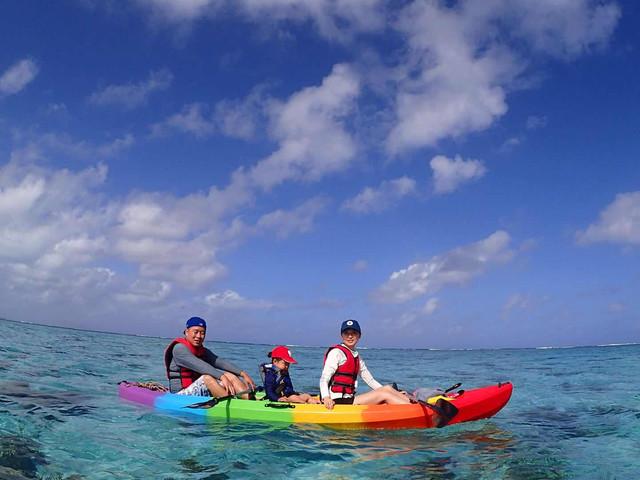 <塞班岛宝宝海滩 水晶湾珊瑚花园 皮划艇游玩+浮潜>(专业中文教练 免费接送)