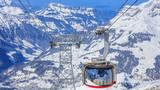 Mt. Titlis, Switzerland - 9 March, 2016: